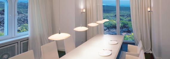 Stilvolle Wohnraumbeleuchtung von unserem Partner LichtDesign