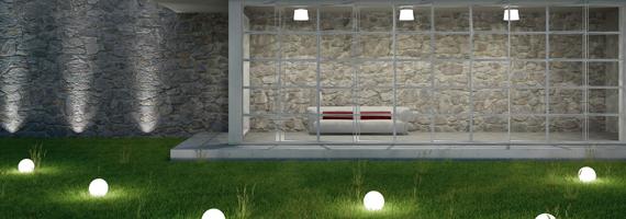 Stilvolle und ausgefallene Bodenleuchtkörper für den Außenraum